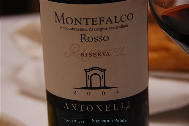 Montefalco Ris. Rosso '04