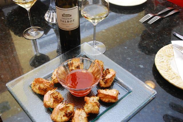 Ch Talbot & Coconut Shrimp