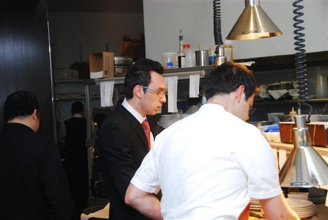 Sommelier Francesco Amodeo & chef Nicholas