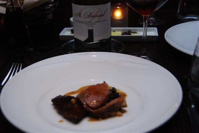 Schreckbichl Colterenzio Pinot Noir & Lamb