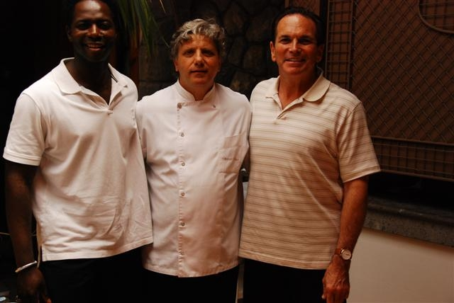 Me with Chef Mellino and Tony