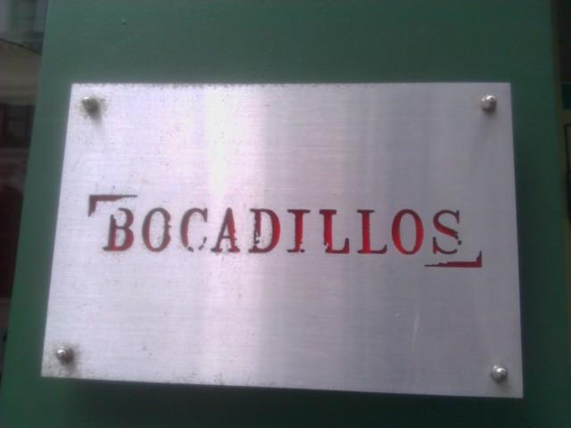 Bocadillos