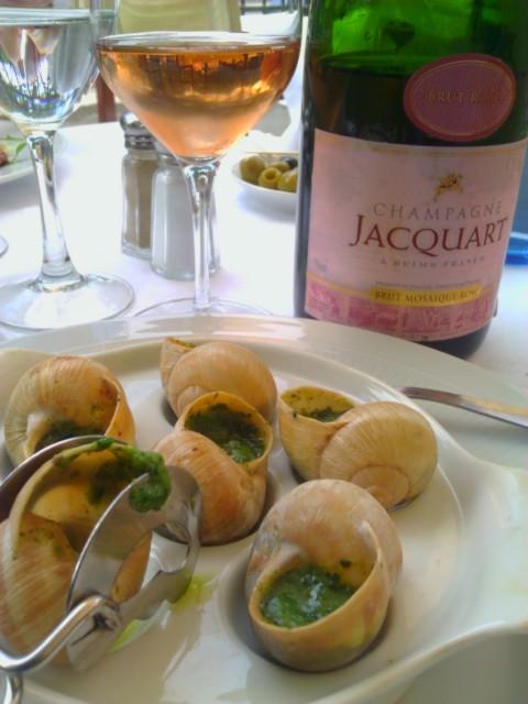 Champagne & Escargot
