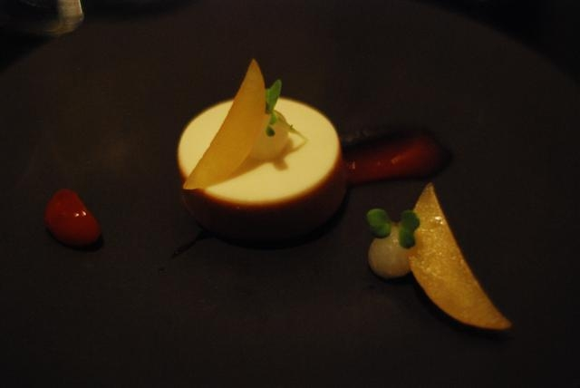 monkfish liver torchon turnip plum brioche