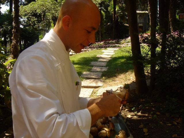 Chef Riccardo Porcini lesson