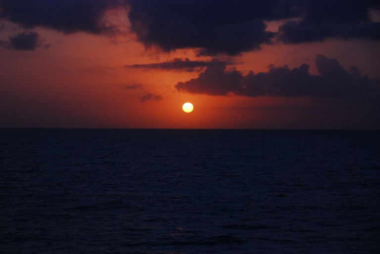 Sunset Caribbean 2011