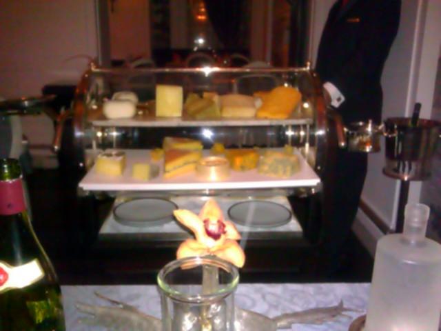 Artisanal Cheese Cart