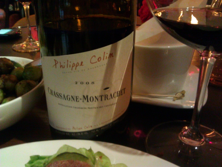 Lunch - Philippe Colin Chass. Montrachet
