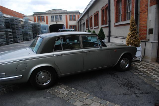 Preferred mode of transport - Rolls Royce