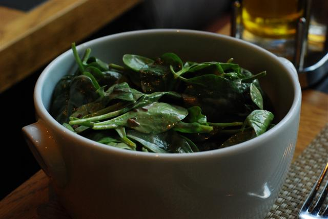 Spinach & Cumin Salad