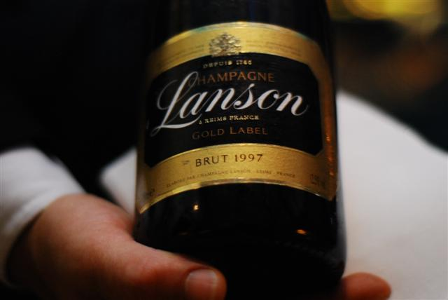 "Lanson ""Gold Label"" 1997"