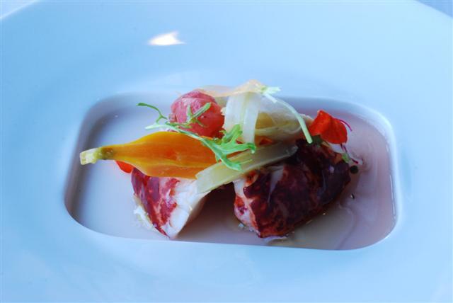 Beets & Lobster Salad