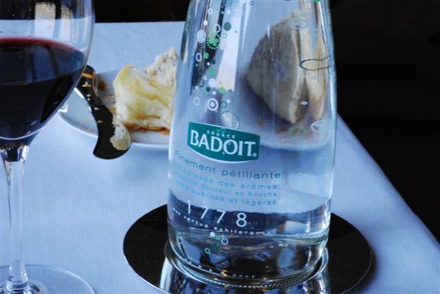 Badoit & Wine
