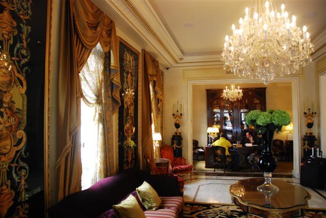 Lobby of Hotel Balzac