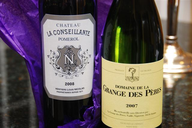 2008 Ch La Conseillante & 2007 Dom De La Grange Des Pères