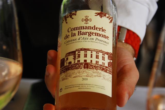 2010 Commanderie de la Bargemone – Coteaux d'Aix en Provence, Rosé