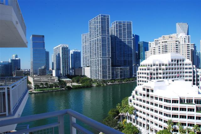 On the Balcony at the Madarin Oriental - Miami