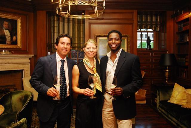 Andy Erickson & Annie Favia at The Jefferson, Washington DC - Favia Wine Dinner