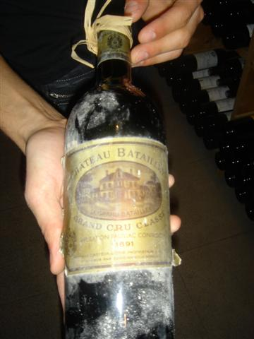Cellar of Pierre Orsi - 1891 Haut Batailley