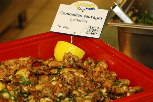 Grenouilles Sauvages