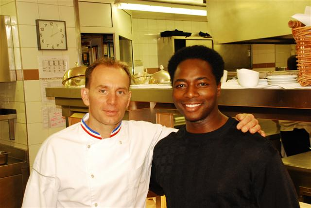 In the kitchen with Davy