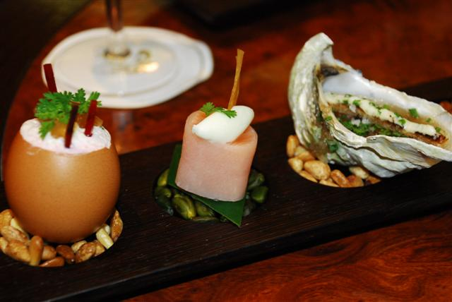 Hor d'oeuvres - Treats from Davy