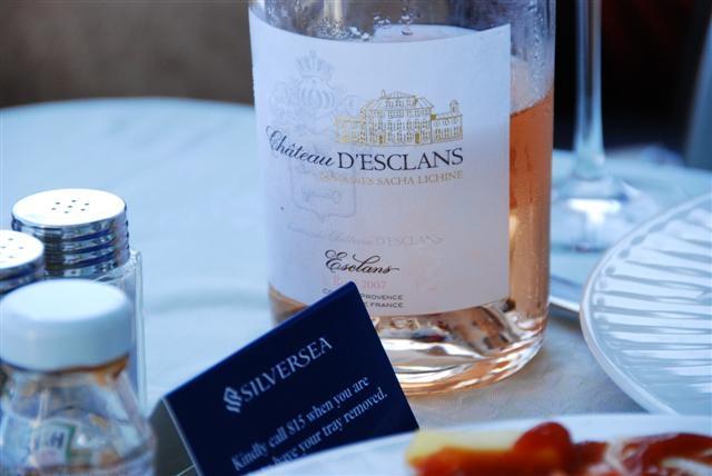 Silversea & Ch D'Esclan Rosé