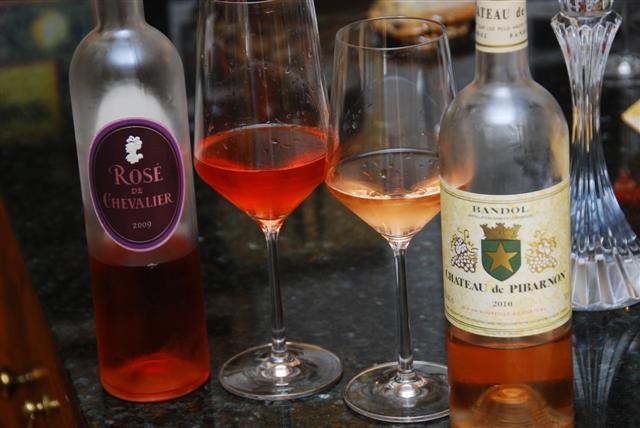 2009 Rosé de Chevalier & 2010 Ch de Pibarnon