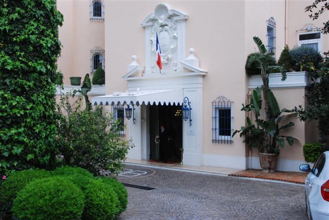 La Reserve - Entrance