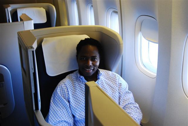 The window seat - Seat 18K