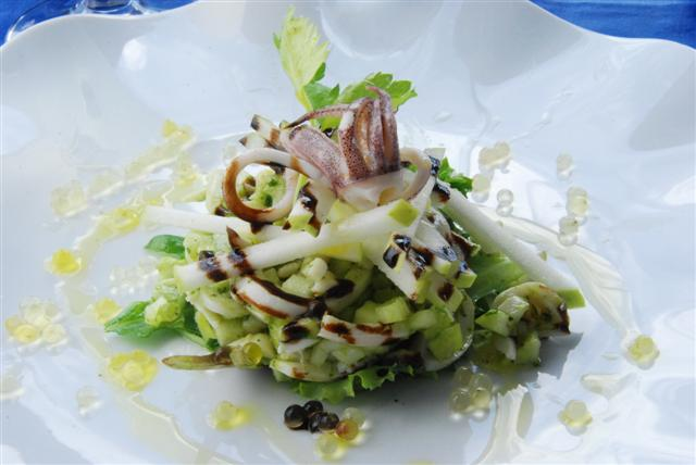 Baby Squid Salad