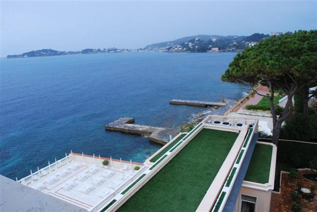 View of St Jean Cap Ferrat