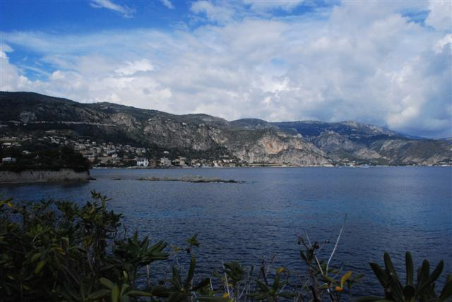 View from Saint Jean Cap Ferrat of La Réserve Beaulieu