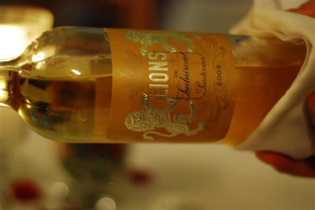 Lions de Suduiraut - Sauternes 2009