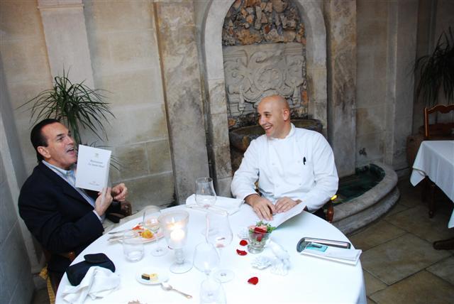 Tony & Chef Laurent Paccini