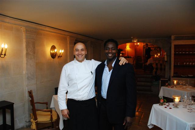 With Chef Laurent Paccini