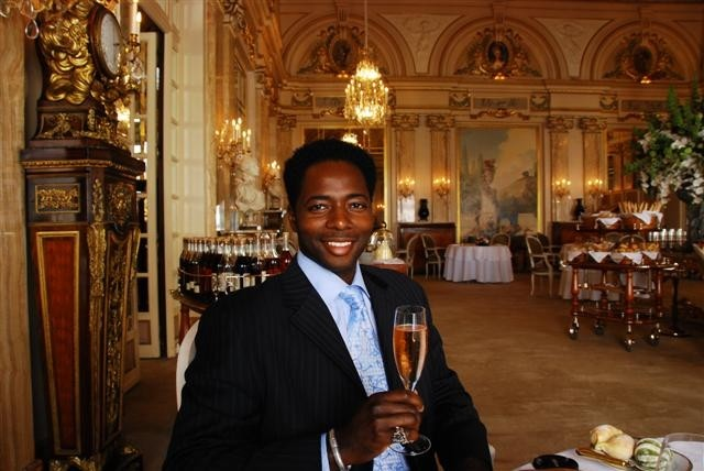 Le Louis XV with a little Bubbly