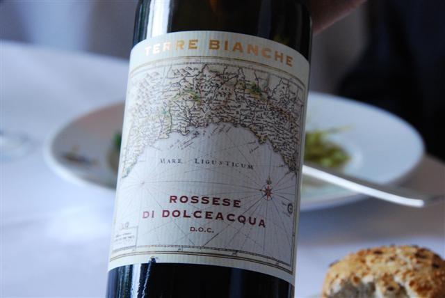 Restaurant Les Bougainvillées- Terre Bianche, Rossese Di Dolceacqua