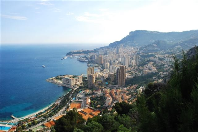 View of Monaco from Vista Palace