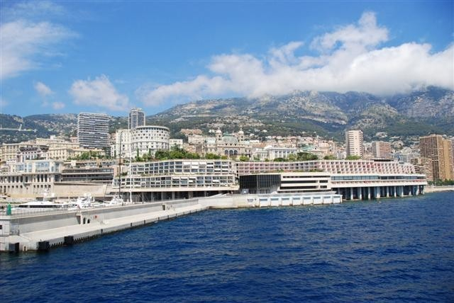 Silversea - View of Monaco from the suite