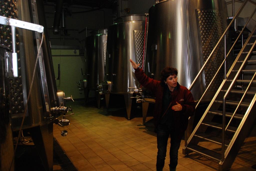 Argentiera - Fermentation Tanks
