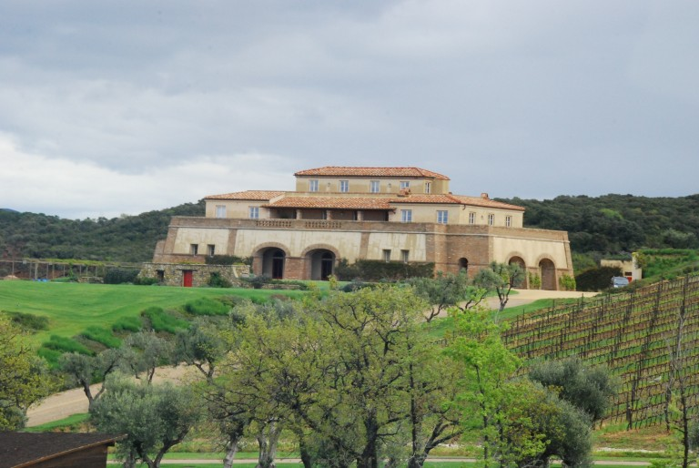 Argentiera - The Winery