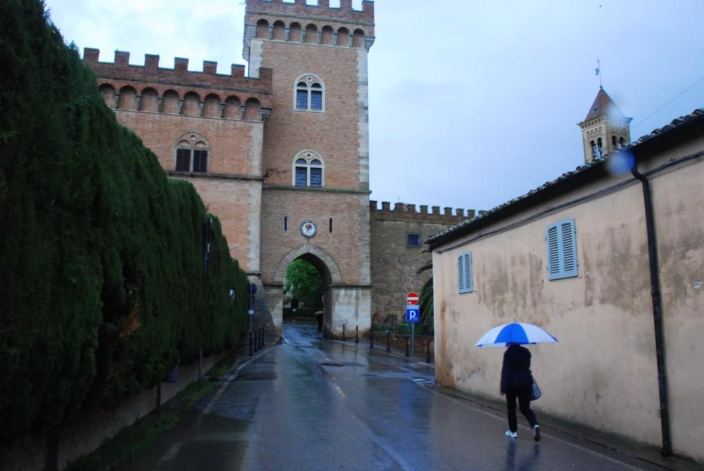 Entering Bolgheri