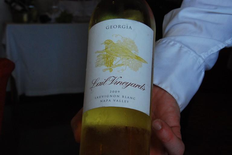 Lail Sauvignon Blanc 2009
