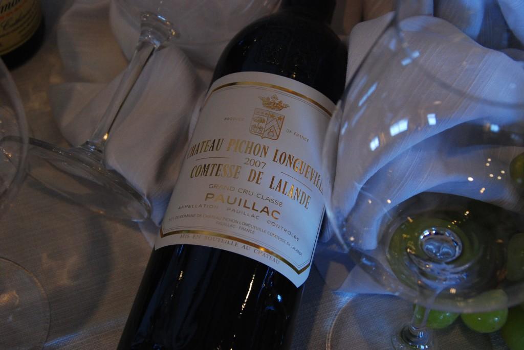 2007 Ch Pichon Lalande