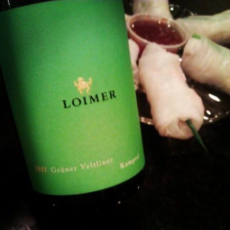 """2011 Grüner Veltliner """"Kamptal"""" - Loimer"""