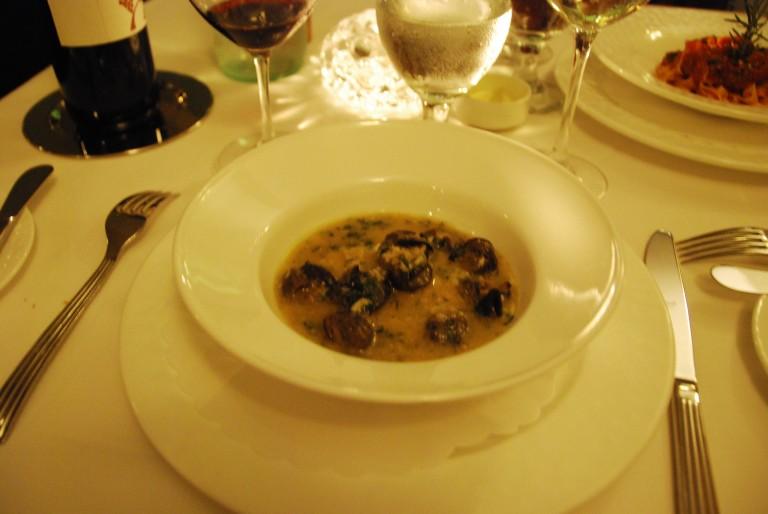 Escargot & Polenta