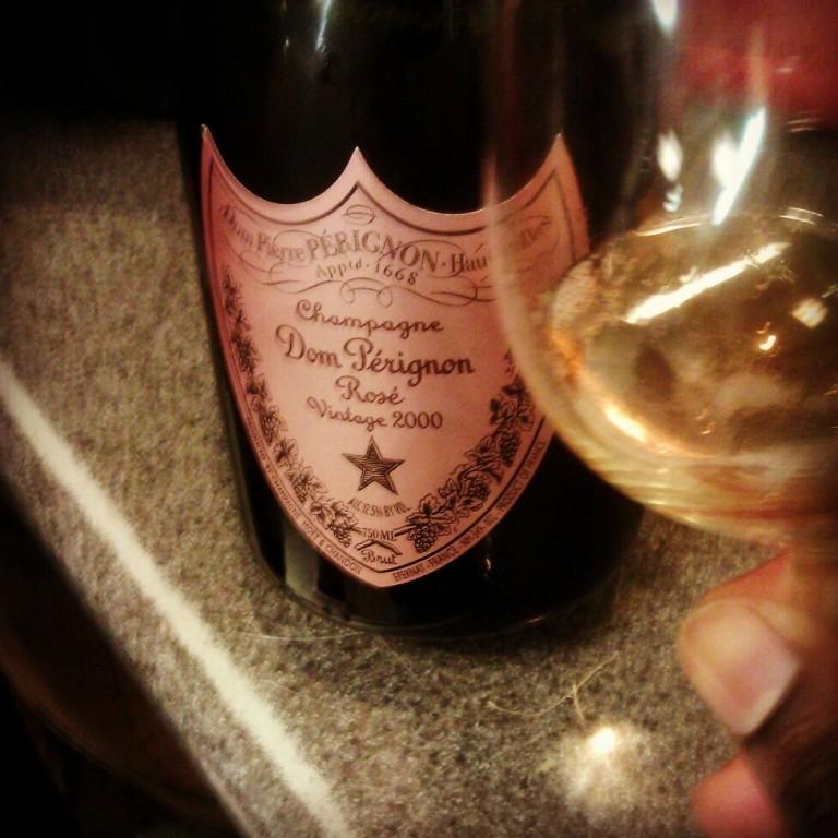 2000 Dom Pérignon Rosé - Nice little work break