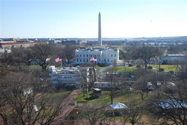 The White House - Rooftop view from The Hay Adams