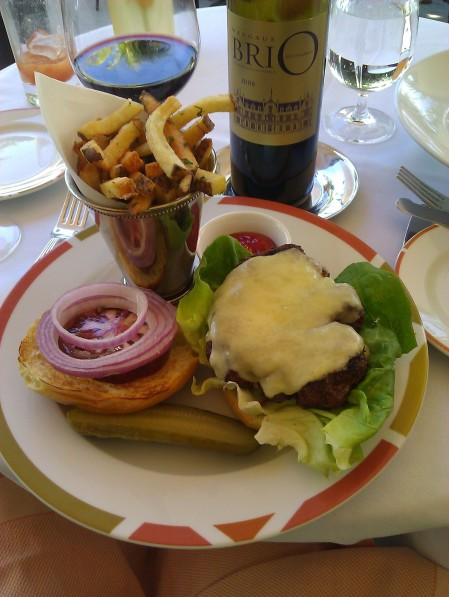 The Burger with Bordeaux